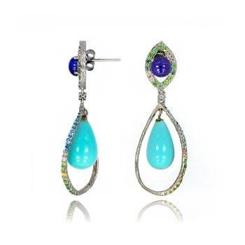 40444dd4c Earrings for Her - Kelvin Gems Stud, Drops, Swarovski & Hoops